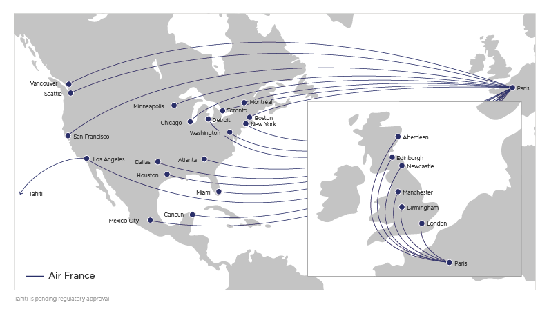 Fly with our codeshare partner Air France | Virgin Atlantic