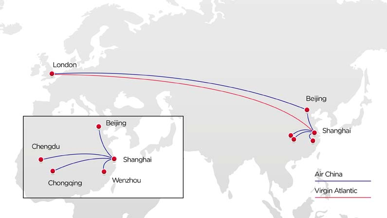 Fly with our codeshare partner Air China | Virgin Atlantic