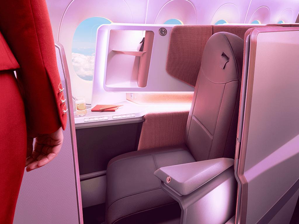 Virgin Atlantic Upper Class Cabin And Seats Virgin Atlantic