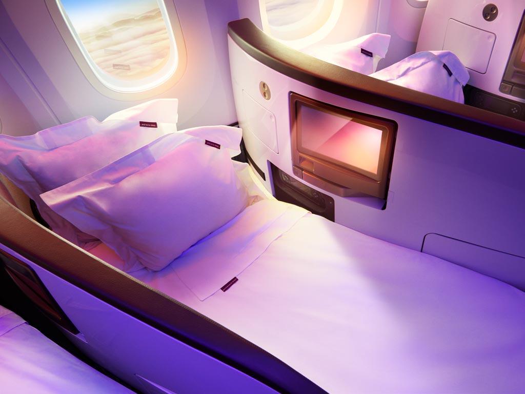 Compare Virgin Atlantic Seats In Different Cabin Classes